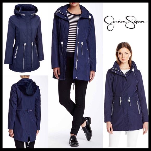 0ed96a09f3bdd Jessica Simpson Jackets & Coats | Anorak Hooded Utility Jacket ...